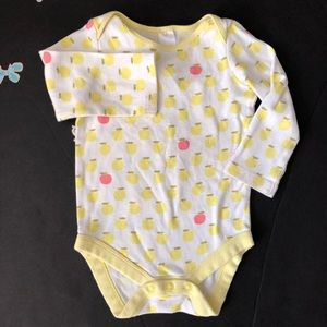 Mini Boden Apple onesie